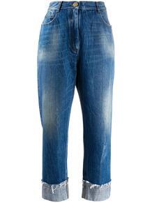 укороченные джинсы широкого кроя BALMAIN 157494675154