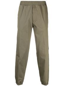 спортивные брюки с логотипами на лампасах MONCLER 164532685348