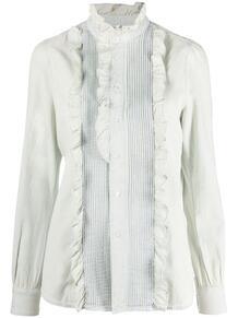 рубашка с длинными рукавами и оборками Polo Ralph Lauren 164757424950