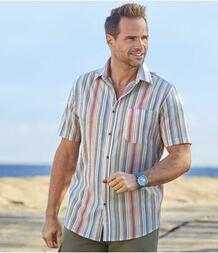 Рубашка из Крепона в Полоску AFM 3465762