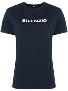 футболка с принтом 'Silenzio' ASPESI 1360513876