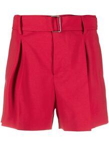 шорты с поясом и складками №21 160999095156