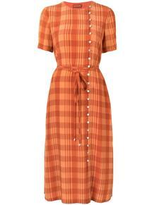 платье миди в клетку ALTUZARRA 160573855252