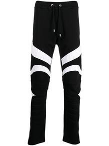 двухцветные спортивные брюки BALMAIN 1616974283