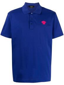 рубашка поло с логотипом Medusa Versace 1658253376