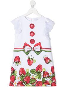 платье с принтом Monnalisa 1658887554