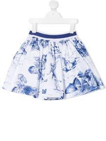 юбка с принтом Monnalisa 1659874554