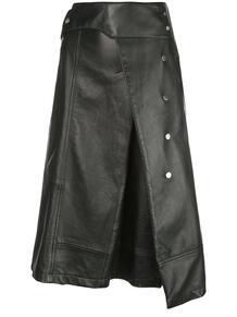 юбка А-силуэта в стиле тренча 3.1 PHILLIP LIM 1438809848