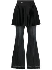джинсы с юбкой SACAI 1646421450