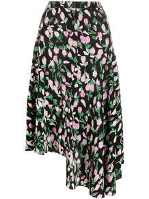 юбка асимметричного кроя с цветочным принтом Marni 160483785252