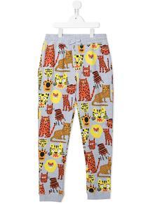 спортивные брюки с принтом STELLA MCCARTNEY KIDS 162968514952