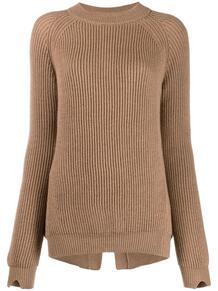 трикотажный свитер в рубчик STEFANO MORTARI 143169195252