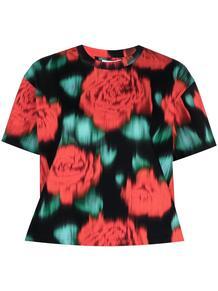 футболка с цветочным принтом Kenzo 165014998883