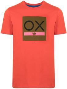 футболка Ox с логотипом PS Paul Smith 1644625376