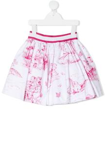 юбка с принтом Monnalisa 1659975656