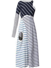 платье в полоску MARINE SERRE 1652257483