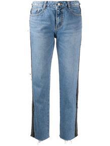 джинсы прямого кроя с лампасами SJYP 149912688876