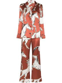 пижама Lila Charme с принтом Olivia Von Halle 160772898883