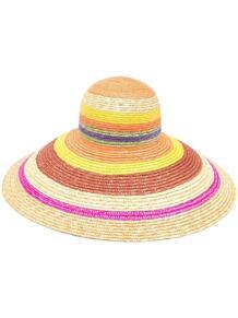 соломенная шляпа в полоску MISSONI MARE 1649800783