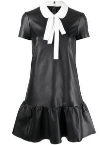 платье мини с бантом RED VALENTINO 165517785248