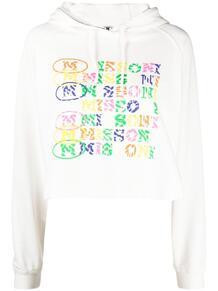 укороченная футболка с логотипом M Missoni 164526368883