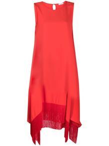 платье с бахромой P.A.R.O.S.H. 1644185776
