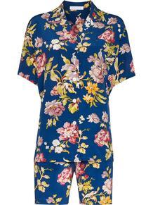 пижама Emeli Arlequine с принтом Olivia Von Halle 1607625183