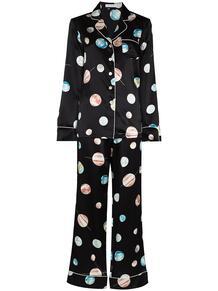 пижама Lila Selene с принтом Olivia Von Halle 1607727377