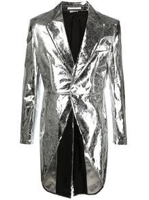 пальто с эффектом металлик COMME DES GARÇONS HOMME PLUS 1648147377