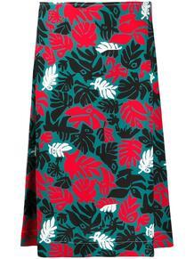юбка А-силуэта с принтом Marni 146926775156