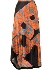 юбка с асимметричным подолом и принтом COLVILLE 161241085252