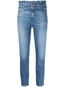 джинсы скинни с завышенной талией 7 for all mankind 164977645057
