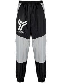 спортивные брюки в стиле колор-блок John Richmond 1624788083