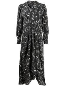 платье миди с принтом Isabel Marant 157325225154