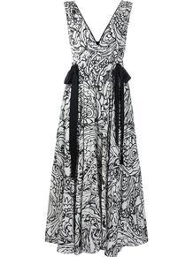 платье макси с ремешками ALEXIS 1634498076