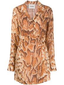 платье Tess со змеиным принтом NANUSHKA 15953686888883
