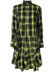 платье-рубашка в клетку HACULLA 1468783177