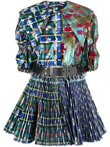 платье в клетку CHOPOVA LOWENA 1652594683