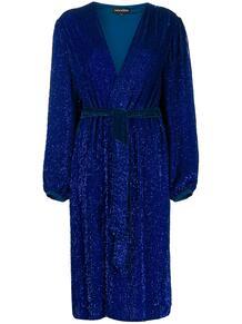 платье с запахом и блестками RETROFÊTE 148397088883