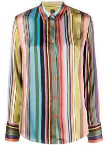 полосатая рубашка с длинными рукавами PS Paul Smith 164920265252