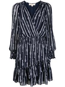 платье-трапеция с принтом Michael Michael Kors 160960838883