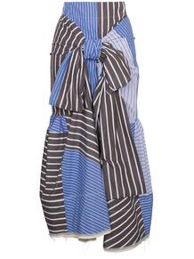 юбка с полоску с завязкой спереди Marni 124968635248