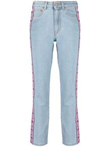 прямые джинсы с лампасами CHIARA FERRAGNI 164506635057