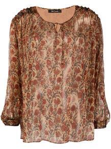 полупрозрачная блузка с цветочным узором MES DEMOISELLES 1660442349