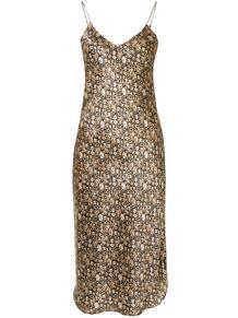 платье-комбинация с цветочным принтом NILI LOTAN 156125718883