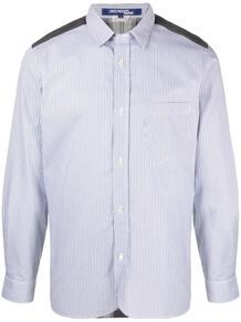 рубашка с контрастной вставкой Junya Watanabe 1651022676