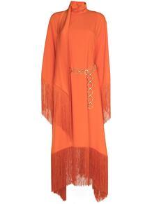 платье-кафтан Mrs Ross с бахромой TALLER MARMO 16089384636363633263