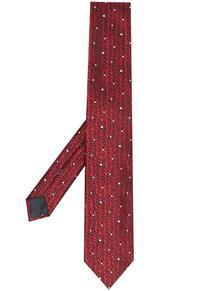 галстук с узором Ermenegildo Zegna 16639433636363633263