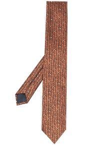 галстук с узором Ermenegildo Zegna 16636991636363633263