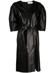 платье с поясом DROMe 1649613583